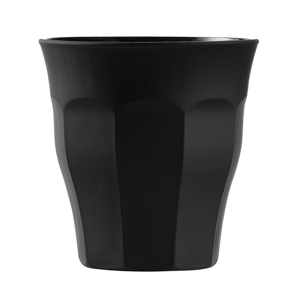 Picardie Soft Touch Black Tumblers 8.8oz / 250ml