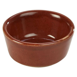 Terra Stoneware Rustic Red Ramekin 1.5oz / 45ml