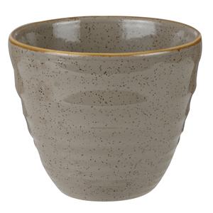Churchill Stonecast Peppercorn Grey Ripple Chip Mug 10oz / 280ml