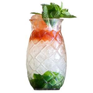 Pineapple Tiki Cocktail Glasses 17.6oz / 500ml