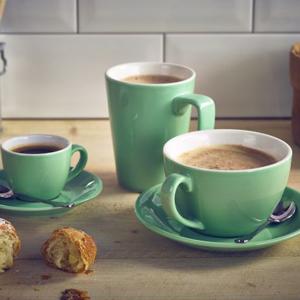 Royal Genware Latte Mug Green 12oz / 340ml