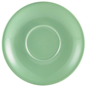 Royal Genware Saucer Green 6.25inch / 16cm