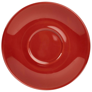 Royal Genware Saucer Red 4.5inch / 12cm
