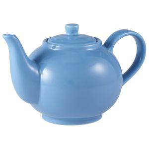 Royal Genware Teapot Blue 16oz / 450ml