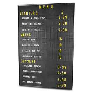 Design-A-Sign Peg Board 24 x 36inch