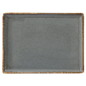 Seasons Storm Rectangular Platter 27 x 21cm