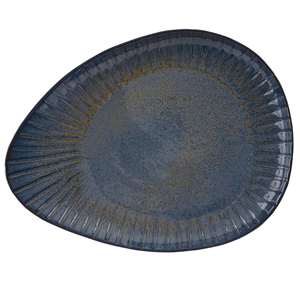 Rustico Aegean Oval Plate 34cm