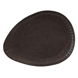 Rustico Flint Oval Plate 34cm