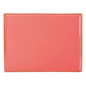 Seasons Coral Rectangular Platter 35 x 25cm