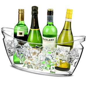 Boat Shaped Plastic Party Tub 6ltr
