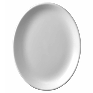 Churchill White Oval Plate 9inch / 23cm