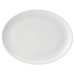 Utopia Pure White Oval Plate 14inch / 36cm