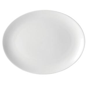 Utopia Pure White Oval Plate 10inch / 25cm