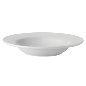 Utopia Pure White Rimmed Soup Bowl 9inch / 23cm