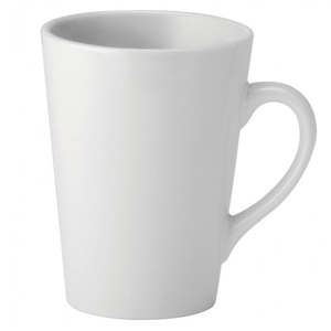 Utopia Pure White Latte Mug 12oz / 340ml