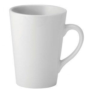 Utopia Pure White Latte Mug 8.5oz / 250ml