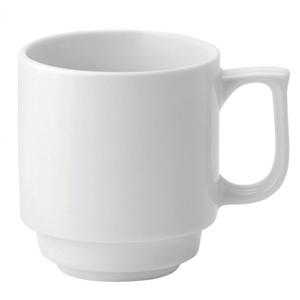 Utopia Pure White Stacking Mug 10oz / 280ml
