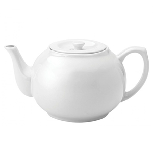 Utopia Pure White Teapot 42oz / 1.2ltr