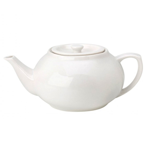 Utopia Pure White Teapot 30oz / 850ml