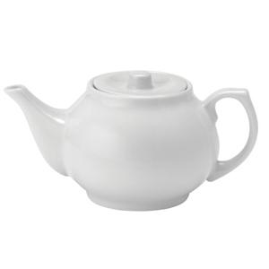 Utopia Pure White Teapot 15oz / 420ml