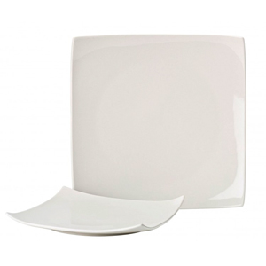 Utopia Pure White Square Plate 10.75inch / 27cm