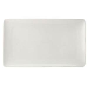 Utopia Pure White Rectangular Plate 13.75inch / 35cm