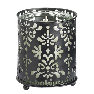 Bolsius StarLight Black Metal Candle Holders