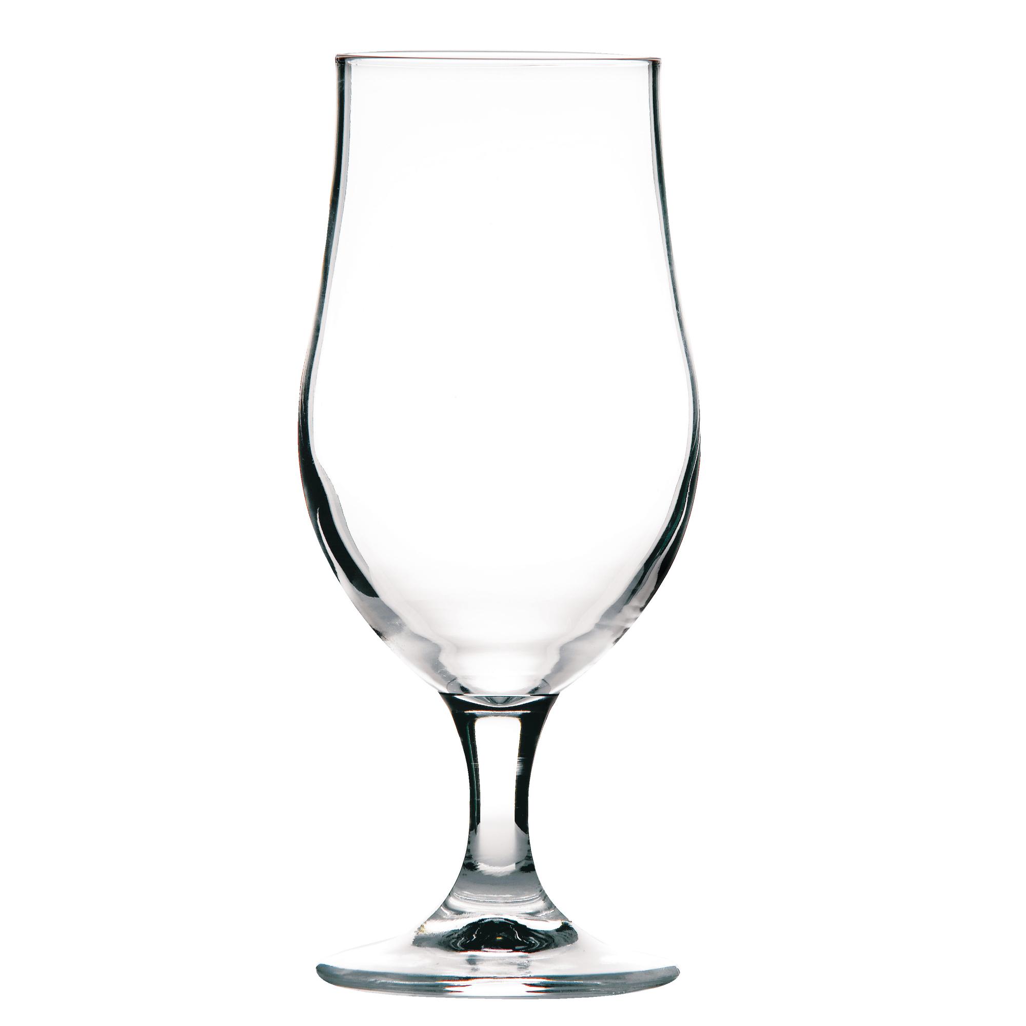 Lined Half Pint Set of 12 Munique Stemmed Beer Glasses 13oz LCE at 10oz