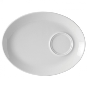Utopia Titan Oval Gourmet Plate 11inch / 28cm