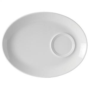 Utopia Titan Oval Gourmet Plate 11inch / 28cm