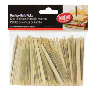 Bamboo Bark Picks 9cm