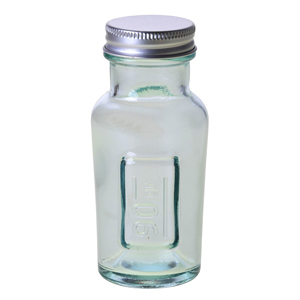 Glass Juice Jar with Metal Top 4.2oz / 120ml