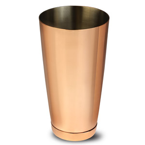 Copper Plated Boston Cocktail Shaker Tin 28oz / 750ml