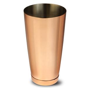 Copper Plated Boston Cocktail Shaker Tin 28oz / 750ml