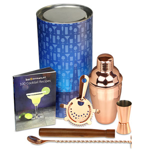 Image of Copper Cobbler Cocktail Shaker Set
