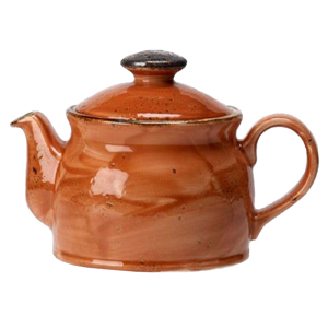 Steelite Craft Club Teapot Terracotta 15oz / 425ml