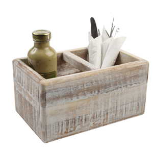Nordic White Table Trug
