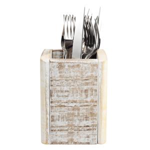 Nordic White Cutlery Box