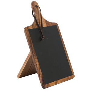 Tuscany Small Paddle Chalk Board
