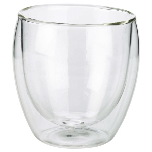 Double Walled Coffee Glasses 8.75oz / 250ml
