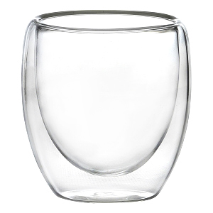 Double Walled Espresso Glasses 3.5oz / 100ml