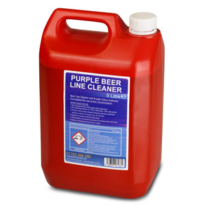 Beer Line Cleaner Purple