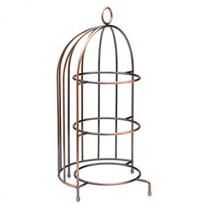Birdcage Plate Stand 37cm