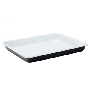Eagle Enamel Black Serving Tray 11inch / 28cm