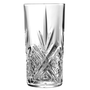 Broadway Crystal Cut Hiball Glasses 13.4oz / 380ml