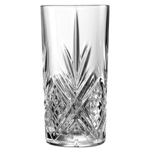 Broadway Crystal Cut Hiball Glasses 10oz / 280ml
