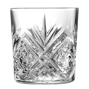 Broadway Crystal Cut Old Fashioned Glasses 10.5oz / 300ml