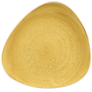 Churchill Stonecast Mustard Seed Yellow Lotus Plate 10.4inch / 26.5cm