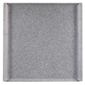 Churchill Granite Melamine Square Buffet Tray 11.9inch / 30.3cm