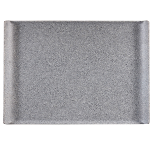 Churchill Granite Melamine Rectangular Buffet Tray 21inch / 53cm